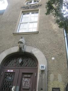 Vroegere gebouw van het Max-Planck-Institut für Physik in Berlijn-Dahlem