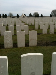Tyne Cot Cemetery. Foto: Pim Huijnen © all rights reserved