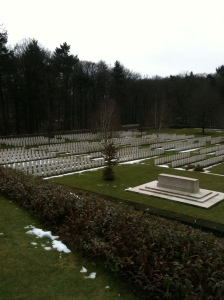 Buttes New British Cemetery. Foto: Pim Huijnen © all rights reserved